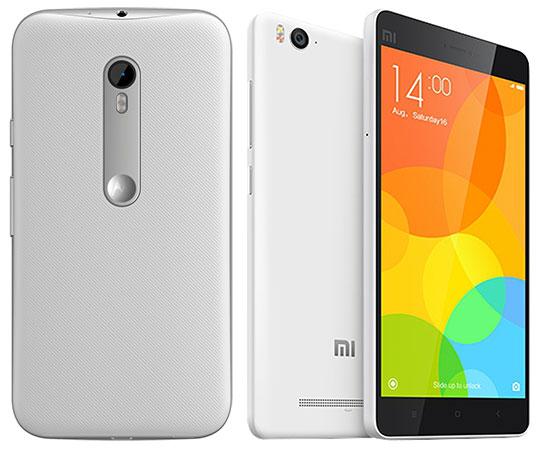 Motorola Moto G (3rd Gen) Vs Xiaomi Mi 4i - Back