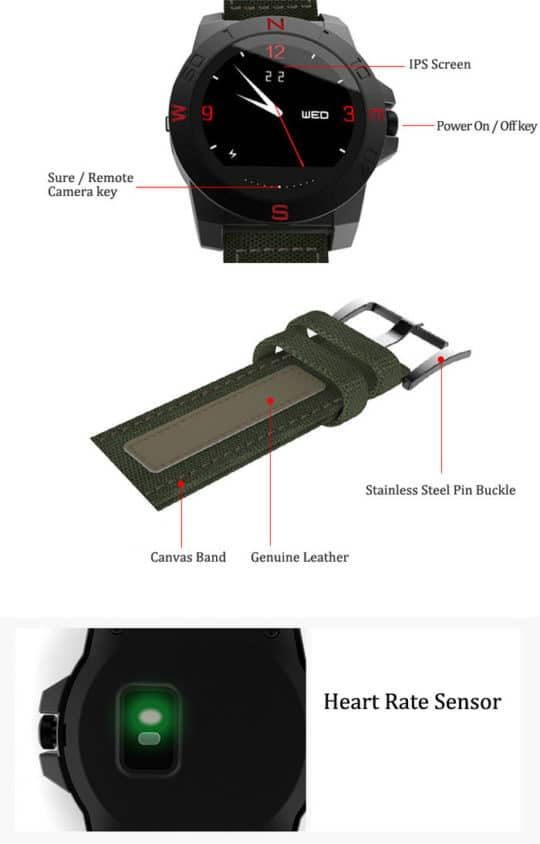 N10 Smart Outdoor Sport Watch - Additional Image 3