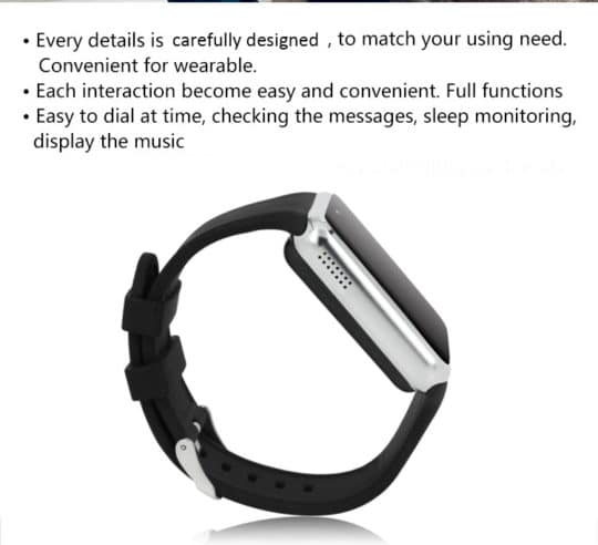 ZGPAX S79 Bluetooth Smartwatch - Additional Image 4