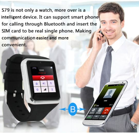 ZGPAX S79 Bluetooth Smartwatch - Additional Image 5