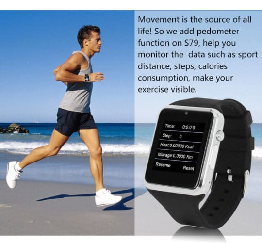 ZGPAX S79 Bluetooth Smartwatch - Additional Image 6