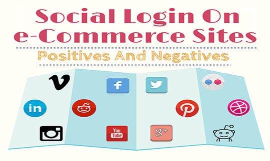 Social Login - Positives And Negatives For eCommerce Website 1