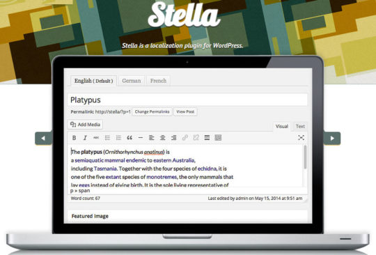 WordPress Translation Plugins - Stella