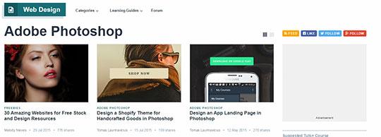 Photoshop Tutorials - Webdesigntuts+