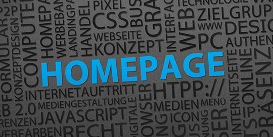 Creating an Ideal Website Homepage
