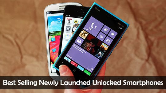 10 Best Selling Newly Launched Unlocked Smartphones