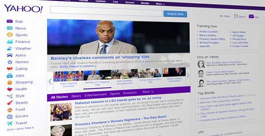 Updated Search Experience on Firefox for Yahoo 1
