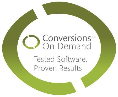 Conversion on Demand