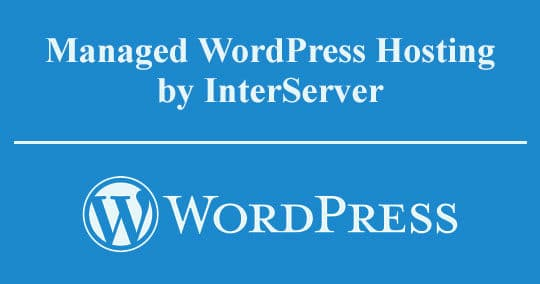 InterServer Managed WordPress Web Hosting Review