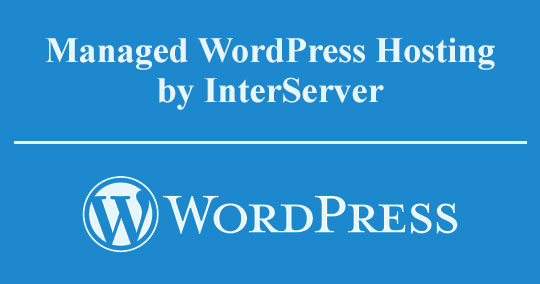 InterServer Managed WordPress Web Hosting Review