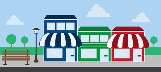 Small Business Company Store Shop