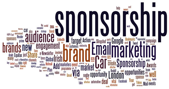 Look for companies who may want to sponsor your website