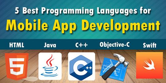 5 Best Programming Languages for Mobile App Development