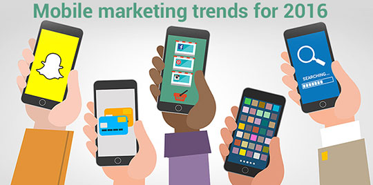 Key Mobile Marketing Trends that will Rule 2016