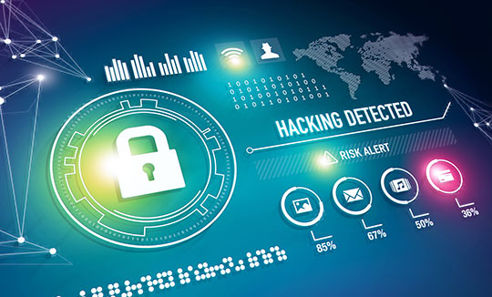Protection Security Hacking Hackers Cyber Attacks