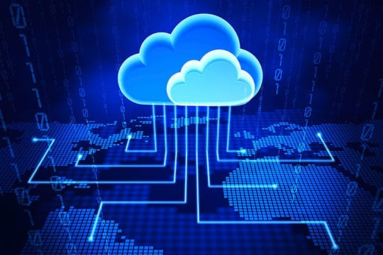 Digital Data Technology Cloud Computing