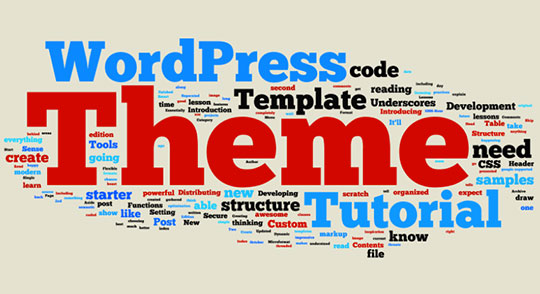 WordPress Theme Template Tutorial