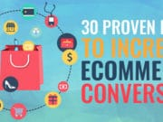 30 Proven Ideas to Increase eCommerce Conversion (Infographic)
