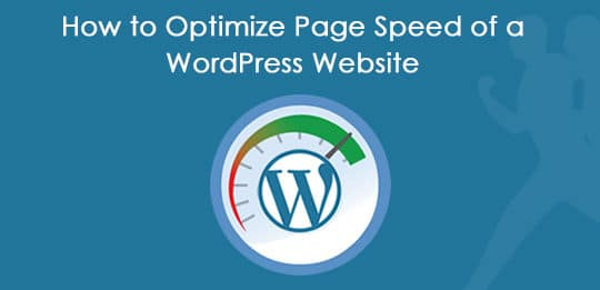 Optimize WordPress Page Speed