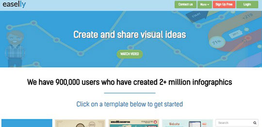Create Infographics - easelly