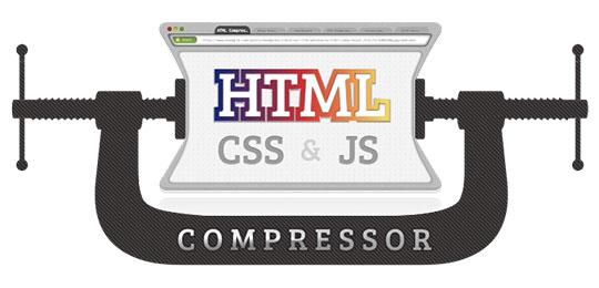 html css js compressor minify