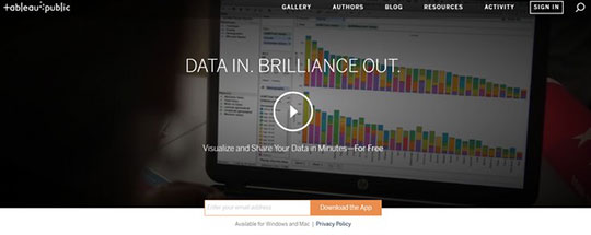 Create Infographics - tableau