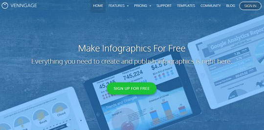 Create Infographics - venngage
