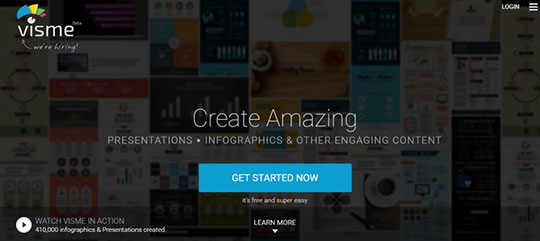 Create Infographics - visme