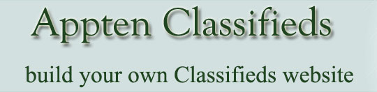 Joomla Classified Ad Extensions - Appten-Classifieds