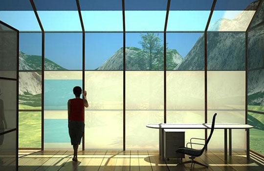 Smart Window - New Metallic Glass