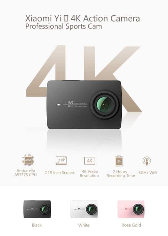 Xiaomi Yi II - Additional Image 1