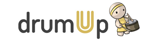 Content Curation: drumup-logo