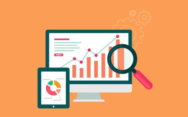 ecommerce conversion graph stats report