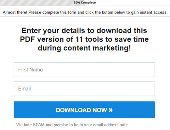 landing page design mistakes - 9