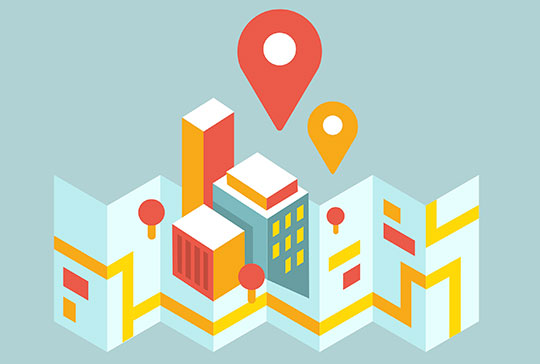 Google My Business Page Location Map