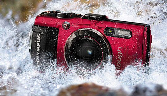 Waterproof Gadgets - Olympus-TOUGH-TG-4