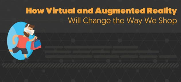 How Virtual and Augmented Reality will Change the Way We Shop (Infographic)
