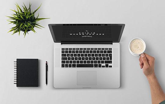 laptop-desk-website-work
