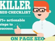 SEO Guide - 75+ Techniques that you can Implement Today (Infographic)