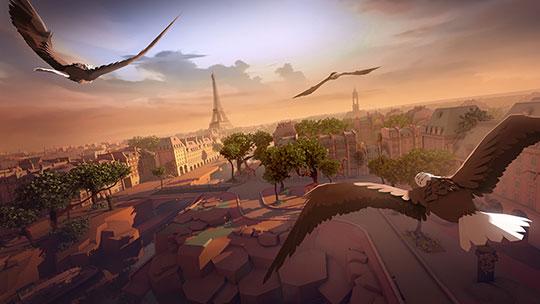 Eagle-Flight - Virtual Reality Games