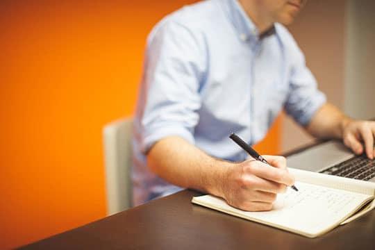Office Startup Business Writing Work Desk