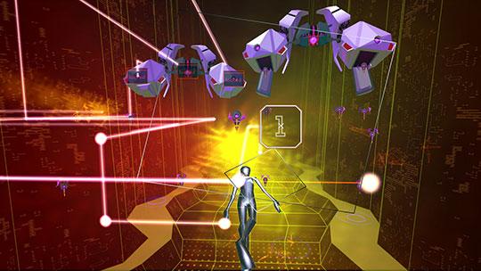 Rez-Infinite - Virtual Reality Games