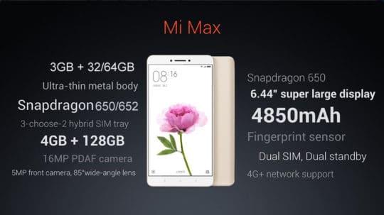Xiaomi Mi Max Additional Image - 3