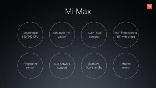 Xiaomi Mi Max Additional Image - 4