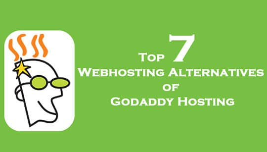 Top 7 GoDaddy Alternatives Web Hosting Providers