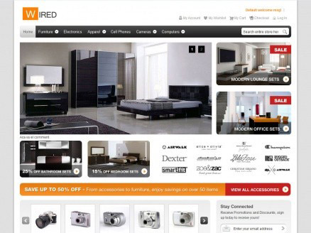 hellowired-free-magento-theme