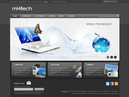 mhitech-free-magento-theme