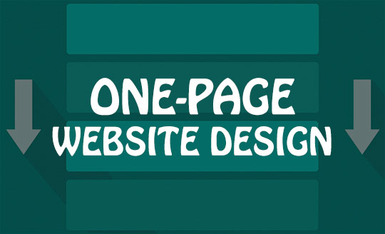 One-Page Website Design