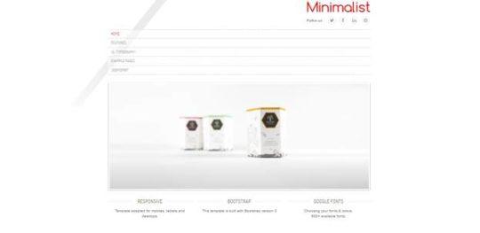 minimalist - Best Free Joomla Templates