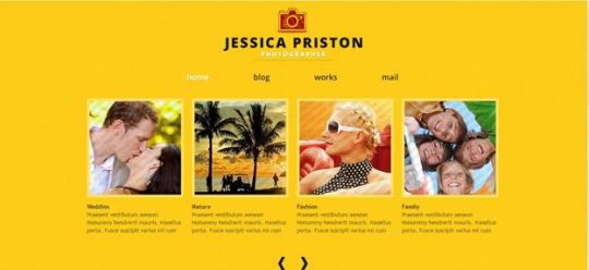 photographer - Best Free Joomla Templates